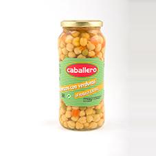 Garbanzos de verduras